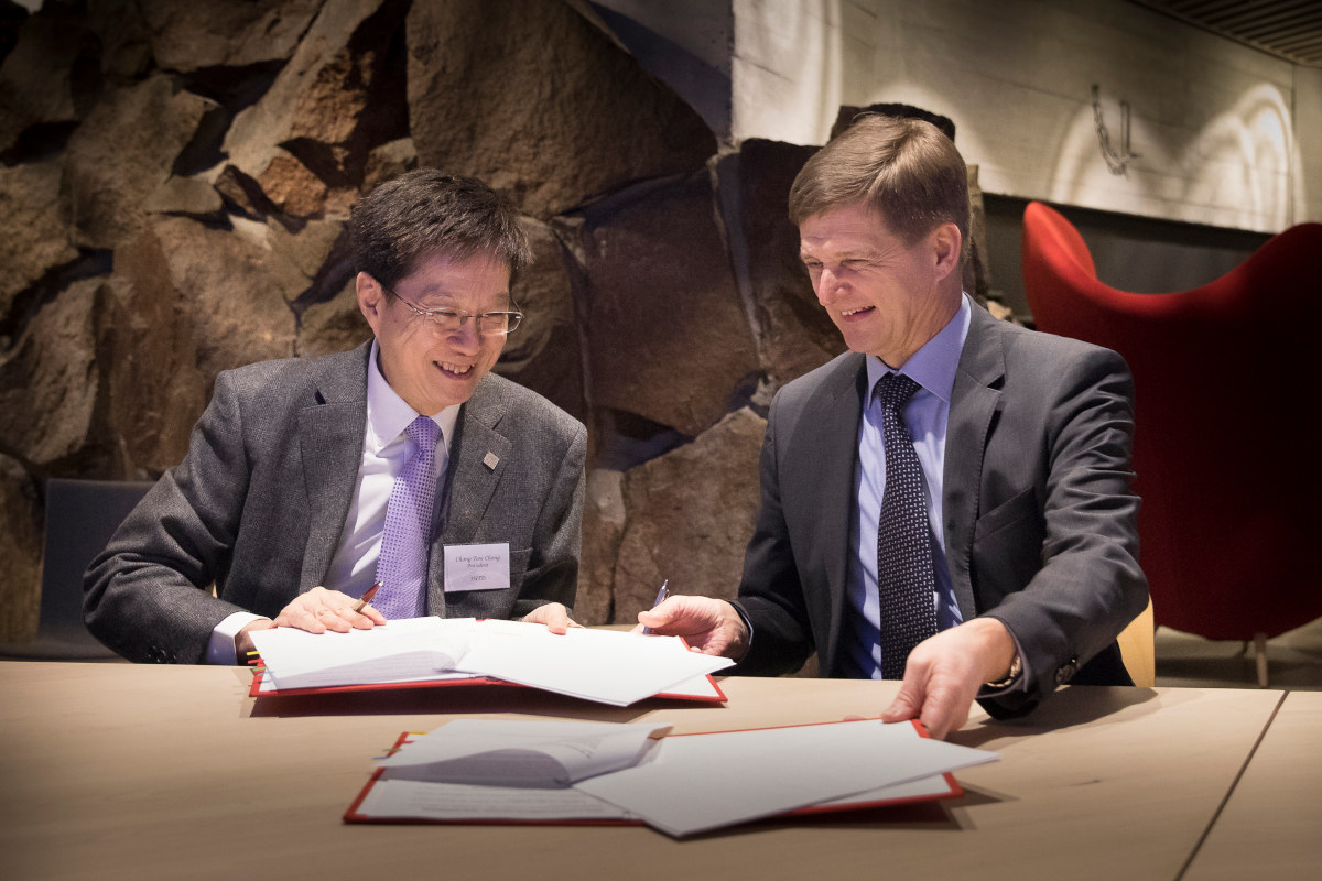 Signed collaboration agreement with Aalto University